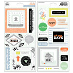 Pinkfresh Studio - A Case of the Blahs Collection - Chipboard Stickers