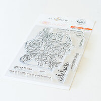 Pinkfresh Studio - Celebrate Collection - Clear Photopolymer Stamp - Today