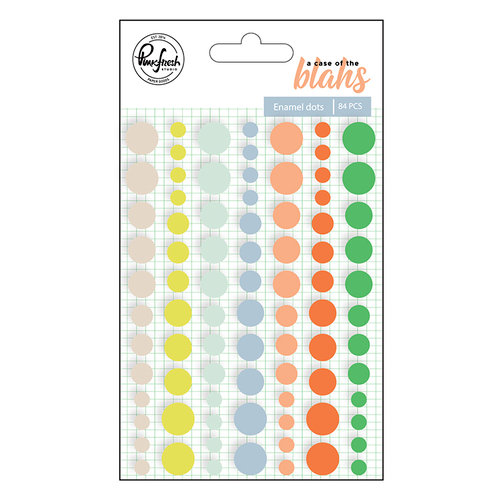 Pinkfresh Studio - A Case of the Blahs Collection - Enamel Dots