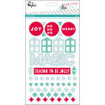 Pinkfresh Studio - Christmas Wishes Collection - Acrylic Stickers