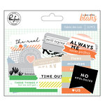 Pinkfresh Studio - A Case of the Blahs Collection - Fabric Die Cuts