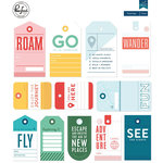 Pinkfresh Studio - Out and About Collection - Travel Tags