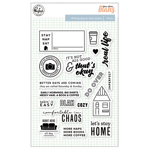 Pinkfresh Studio - A Case of the Blahs Collection - Clear Photopolymer Stamps