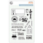 Pinkfresh Studio - A Case of the Blahs Collection - Clear Acrylic Stamps