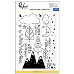 Pinkfresh Studio - Escape the Ordinary Collection - Clear Acrylic Stamps