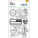 Pinkfresh Studio - Indigo Hills Collection - Clear Acrylic Stamps