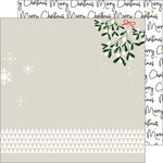Pinkfresh Studio - Oh Joy Collection - Christmas - 12 x 12 Double Sided Paper - Merry Christmas