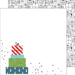 Pinkfresh Studio - Oh Joy Collection - Christmas - 12 x 12 Double Sided Paper - Under the Tree