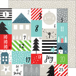 Pinkfresh Studio - Oh Joy Collection - Christmas - 12 x 12 Double Sided Paper - Advent Love