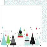 Pinkfresh Studio - Oh Joy Collection - Christmas - 12 x 12 Double Sided Paper - Merry and Bright