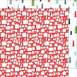 Pinkfresh Studio - Oh Joy Collection - Christmas - 12 x 12 Double Sided Paper - Joyful Christmas
