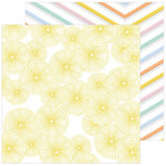 Pinkfresh Studio - Simple and Sweet Collection - 12 x 12 Double Sided Paper - Good Things