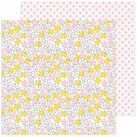 Pinkfresh Studio - Simple and Sweet Collection - 12 x 12 Double Sided Paper - Simplicity