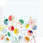 Pinkfresh Studio - Office Hours Collection - 12 x 12 Double Sided Paper - Hard Work