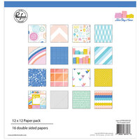 Pinkfresh Studio - Let's Stay Home Collection - 12 x 12 Collection Paper Pack