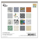 Pinkfresh Studio - Boys Fort Collection - 6 x 6 Paper Pack