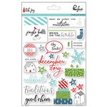 Pinkfresh Studio - Oh Joy Collection - Christmas - Puffy Stickers