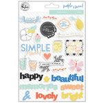 Pinkfresh Studio - Simple and Sweet Collection - Puffy Stickers