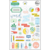 Pinkfresh Studio - Office Hours Collection - Puffy Stickers