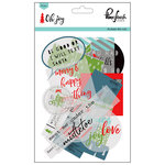 Pinkfresh Studio - Oh Joy Collection - Christmas - Die Cut Acetate Pieces