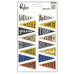 Pinkfresh Studio - Boys Fort Collection - Fabric Pennants