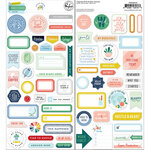 Pinkfresh Studio - Office Hours Collection - Cardstock Phrase Stickers