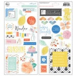 Pinkfresh Studio - Simple and Sweet Collection - Chipboard Stickers