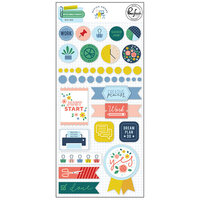 Pinkfresh Studio - Office Hours Collection - Stickers - Mixed Embellishments Pack