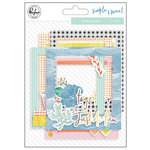 Pinkfresh Studio - Simple and Sweet Collection - Stitched Frames with Foil Accents