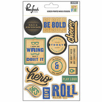 Pinkfresh Studio - Boys Fort Collection - Wood Stickers