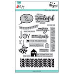 Pinkfresh Studio - Oh Joy Collection - Christmas - Clear Acrylic Stamps