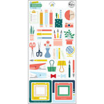 Pinkfresh Studio - Office Hours Collection - Chipboard Stickers
