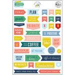 Pinkfresh Studio - Office Hours Collection - Fabric Ephemera Pack