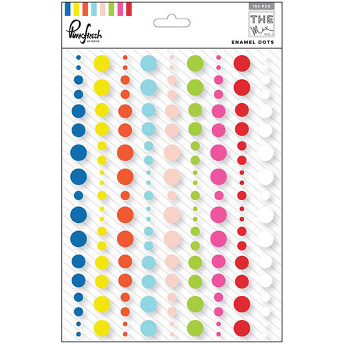 Pinkfresh Studio - The Mix No 1 Collection - Enamel Dots