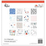 Pinkfresh Studio - December Days Collection - Christmas - 12 x 12 Paper Pack