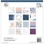 Pinkfresh Studio - Indigo Hills 2 Collection - 12 x 12 Paper Pack