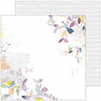 Pinkfresh Studio - Indigo Hills 2 Collection - 12 x 12 Double Sided Paper - Mesa