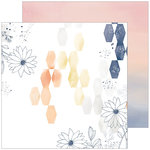 Pinkfresh Studio - Indigo Hills 2 Collection - 12 x 12 Double Sided Paper - Ridge
