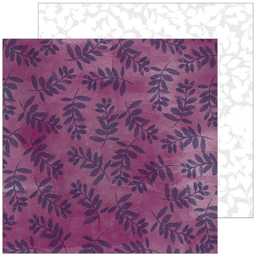 Pinkfresh Studio - Indigo Hills 2 Collection - 12 x 12 Double Sided Paper - Gorge