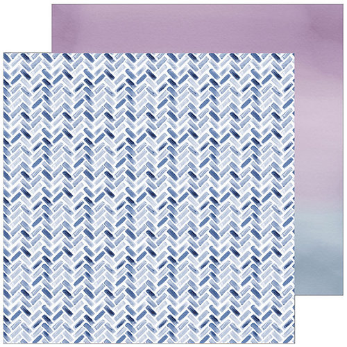 Pinkfresh Studio - Indigo Hills 2 Collection - 12 x 12 Double Sided Paper - Eminence