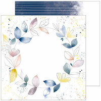 Pinkfresh Studio - Indigo Hills 2 Collection - 12 x 12 Double Sided Paper - Meadow