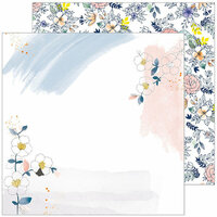 Pinkfresh Studio - Indigo Hills 2 Collection - 12 x 12 Double Sided Paper - Glen