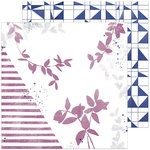 Pinkfresh Studio - Indigo Hills 2 Collection - 12 x 12 Double Sided Paper - Highland
