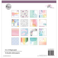 Pinkfresh Studio - Just A Little Lovely Collection - 12 x 12 Paper Pack