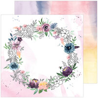 Pinkfresh Studio - Just A Little Lovely Collection - 12 x 12 Double Sided Paper - Around Here