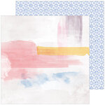 Pinkfresh Studio - Just A Little Lovely Collection - 12 x 12 Double Sided Paper - Possibility