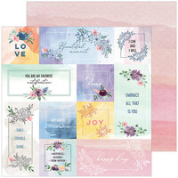 Pinkfresh Studio - Just A Little Lovely Collection - 12 x 12 Double Sided Paper - Story