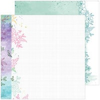 Pinkfresh Studio - Just A Little Lovely Collection - 12 x 12 Double Sided Paper - Hope