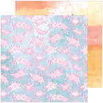 Pinkfresh Studio - Just A Little Lovely Collection - 12 x 12 Double Sided Paper - New Thoughts