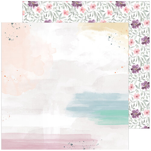 Pinkfresh Studio - Just A Little Lovely Collection - 12 x 12 Double Sided Paper - Highlight